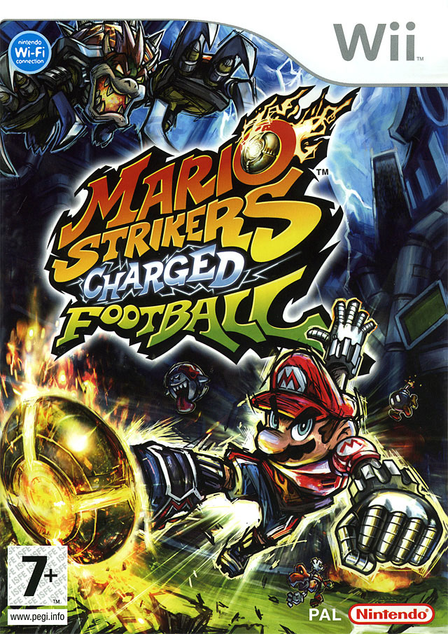 Mario Strikers Charged Football - Wii -