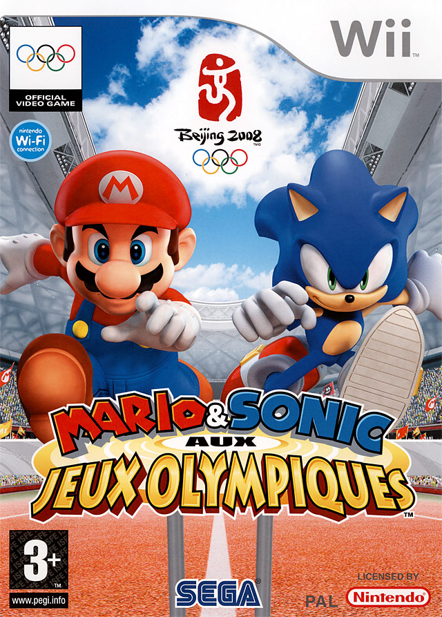 MARIO & SONIC at the OLYMPIC GAMES PAL - Wii [SCRUBBED] [FS]
