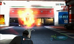 Test Men in Black : Alien Crisis Wii - Screenshot 12