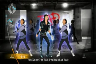 Test Michael Jackson : The Experience Wii - Screenshot 12