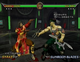 Test Mortal Kombat Armageddon Wii - Screenshot 9
