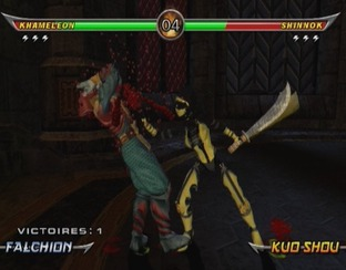 Test Mortal Kombat Armageddon Wii - Screenshot 10