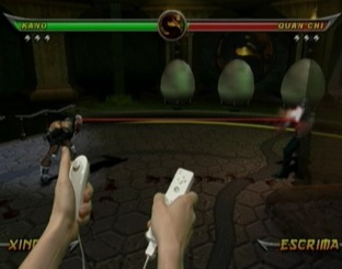 Test Mortal Kombat Armageddon Wii - Screenshot 11