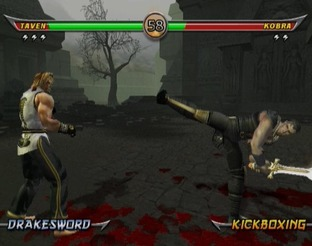 Test Mortal Kombat Armageddon Wii - Screenshot 14