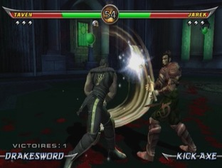 Test Mortal Kombat Armageddon Wii - Screenshot 15