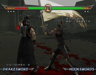 Test Mortal Kombat Armageddon Wii - Screenshot 16