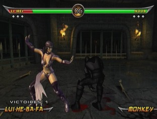 Test Mortal Kombat Armageddon Wii - Screenshot 20
