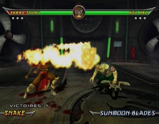 Test Mortal Kombat Armageddon Wii - Screenshot 23