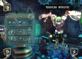 Test Monster Lab Wii - Screenshot 70