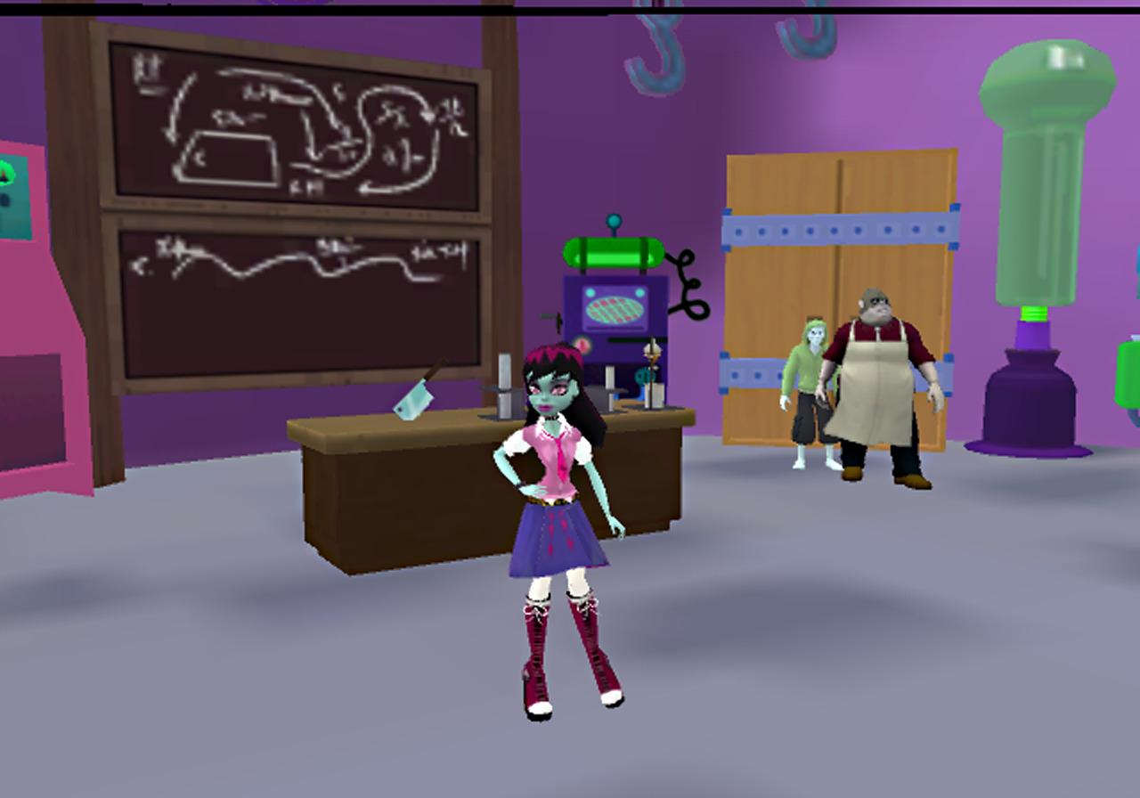 jeuxvideo.com Monster High : Lycée d'Enfer - Wii Image 10 sur 37