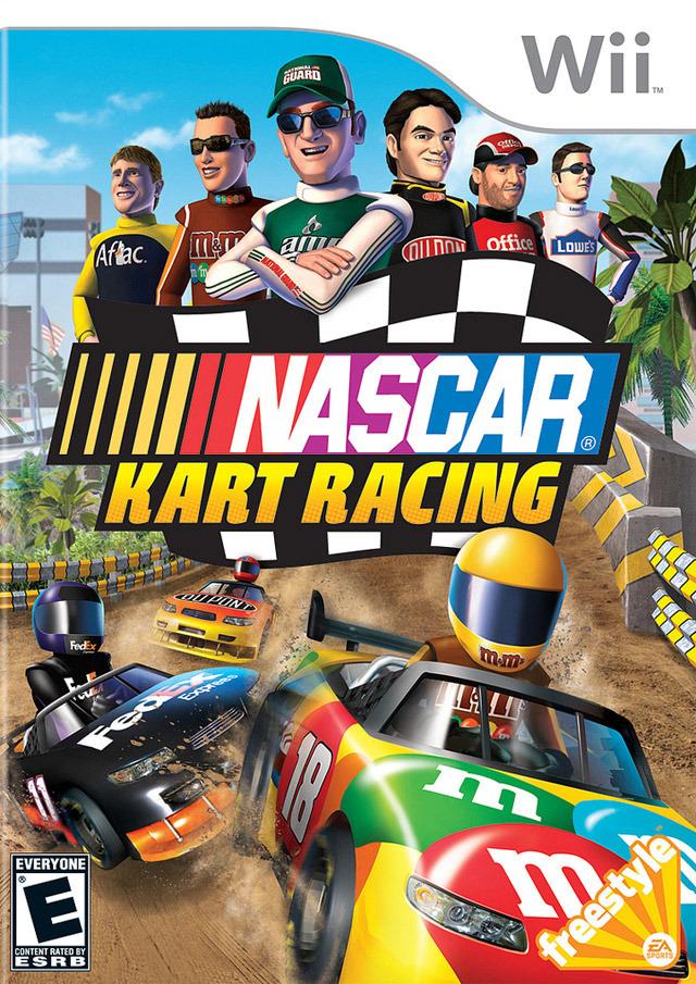 NASCAR Kart Racing (USA) (NTSC-U) Wii [FS]