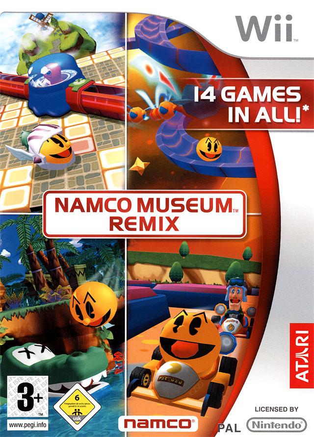 Namco Museum Remix Namuwi0f