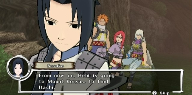 Images Naruto Shippuden : Dragon Blade Chronicles Wii - 64