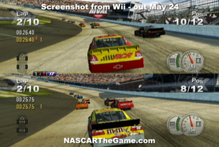 NASCAR The Game 2011 Wii