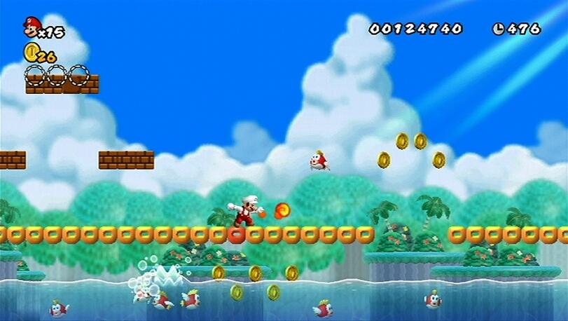 jeuxvideo.com New Super Mario Bros. Wii - Wii Image 26 sur 421