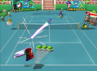 Test Nouvelle Façon de Jouer ! Mario Power Tennis Wii - Screenshot 73