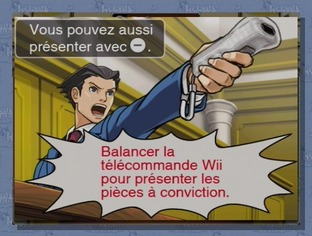 Test Phoenix Wright : Ace Attorney Wii - Screenshot 62