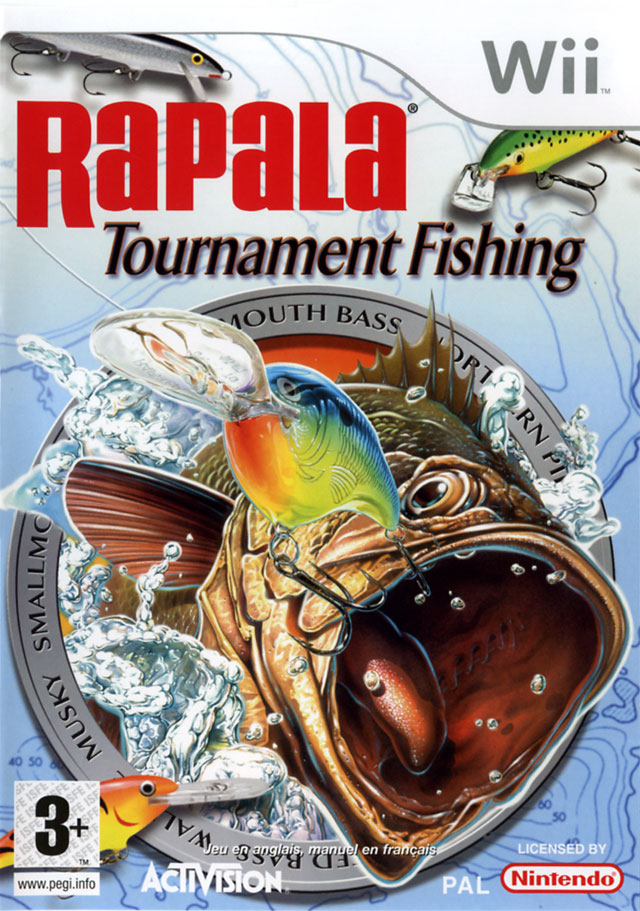 Rapala Tournament Fishing [Wii][UD]