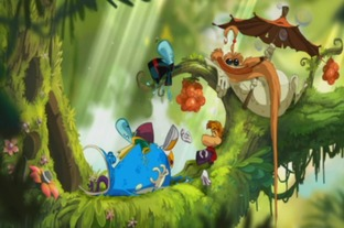 Test Rayman Origins Wii - Screenshot 45