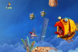 Test Rayman Origins Wii - Screenshot 48