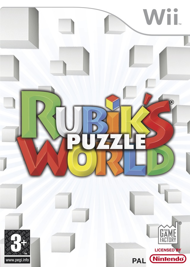 RUBIK'S PUZZLE WORLD - PAL Wii [FS]