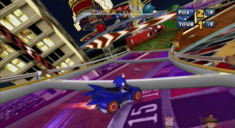 jeuxvideo.com Sonic & Sega All-Stars Racing - Wii Image 68 sur 110