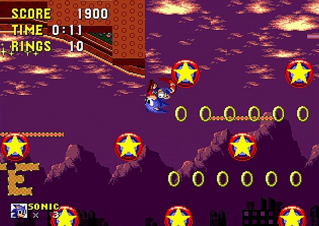 Sonic the Hedgehog - Megadrive