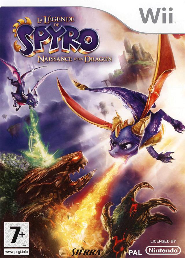 [UL] La Légende de Spyro : Naissance d'un Dragon [Wii]