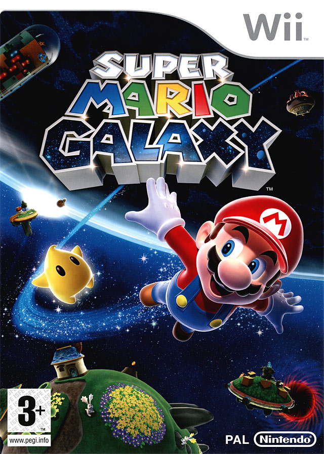 super mario galaxy sur wii. Black Bedroom Furniture Sets. Home Design Ideas