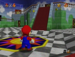 Test Super Mario 64 Wii - Screenshot 10