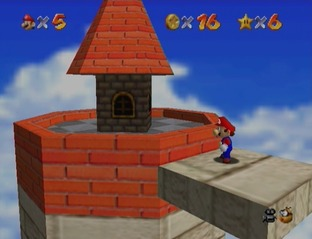 Test Super Mario 64 Wii - Screenshot 18