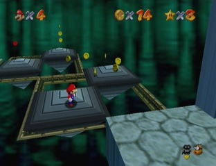 Test Super Mario 64 Wii - Screenshot 20