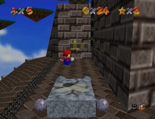 Test Super Mario 64 Wii - Screenshot 22