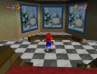 Test Super Mario 64 Wii - Screenshot 23