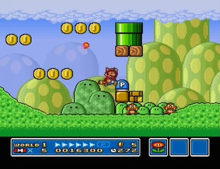 Test Super Mario All-Stars - Edition 25e Anniversaire Wii - Screenshot 10