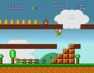 Test Super Mario All-Stars - Edition 25e Anniversaire Wii - Screenshot 20