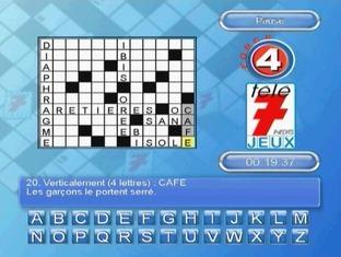 Fiche complète Télé 7 Jeux : Mots Croisés - Wii