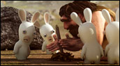 Aperçu : The Lapins Crétins : Retour vers le Passé - Wii