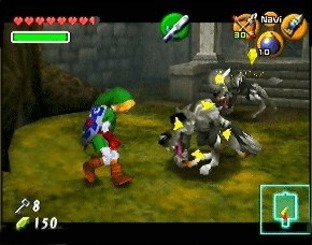 The Legend of Zelda : Ocarina of Time Wii