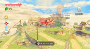 Test The Legend of Zelda : Skyward Sword Wii - Screenshot 213