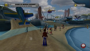 Test Thrillville : Le Parc En Folie Wii - Screenshot 2