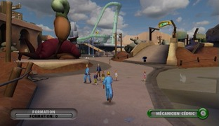 Test Thrillville : Le Parc En Folie Wii - Screenshot 5