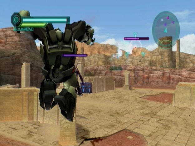 Images Transformers Prime : The Game Wii - 34