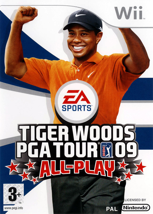 Tiger Woods PGA Tour 09 All-Play Twptwi0f