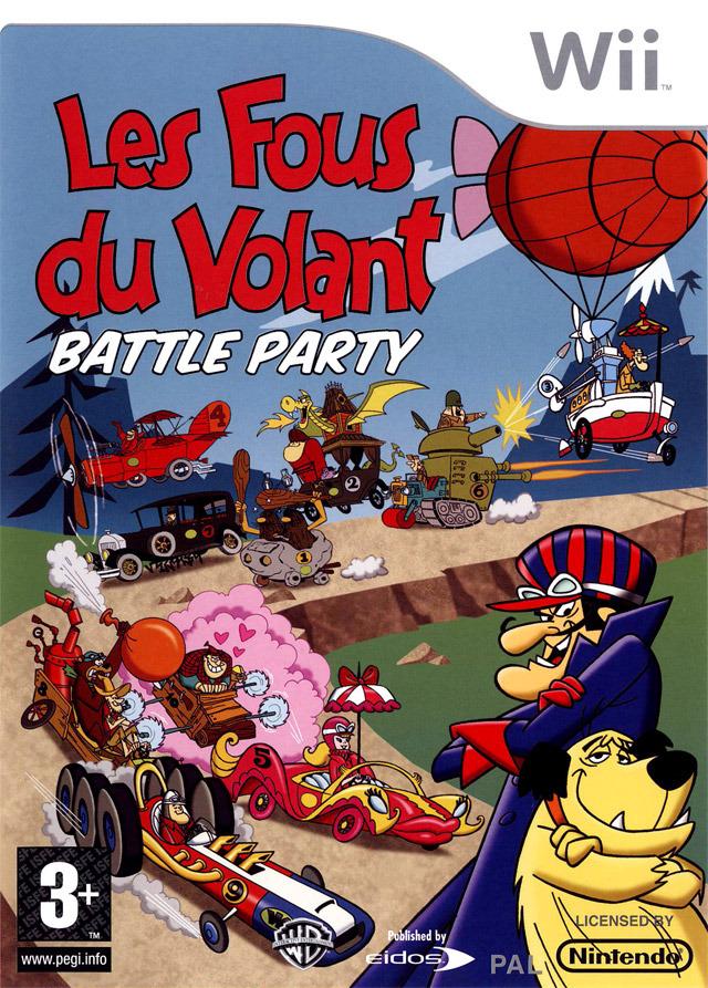 Les Fous du Volant Battle Party FRENCH WBFS |Wii| [FS]