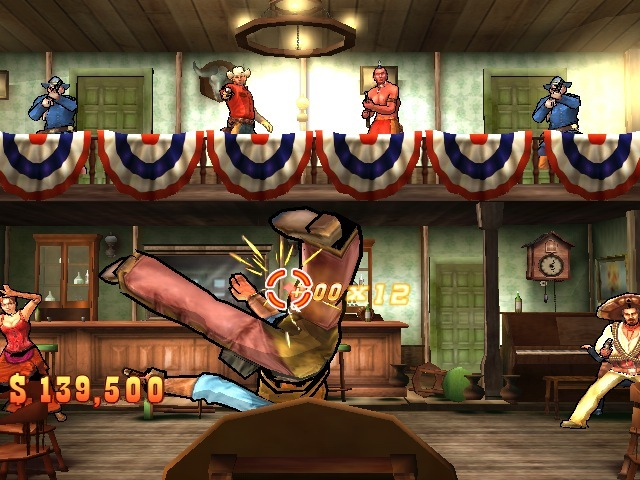 wild west shootout wii game review