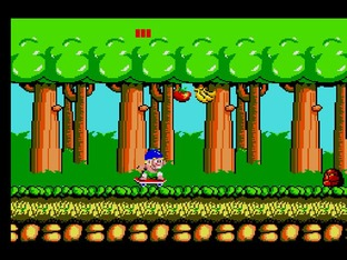 Test Wonder Boy Wii - Screenshot 7