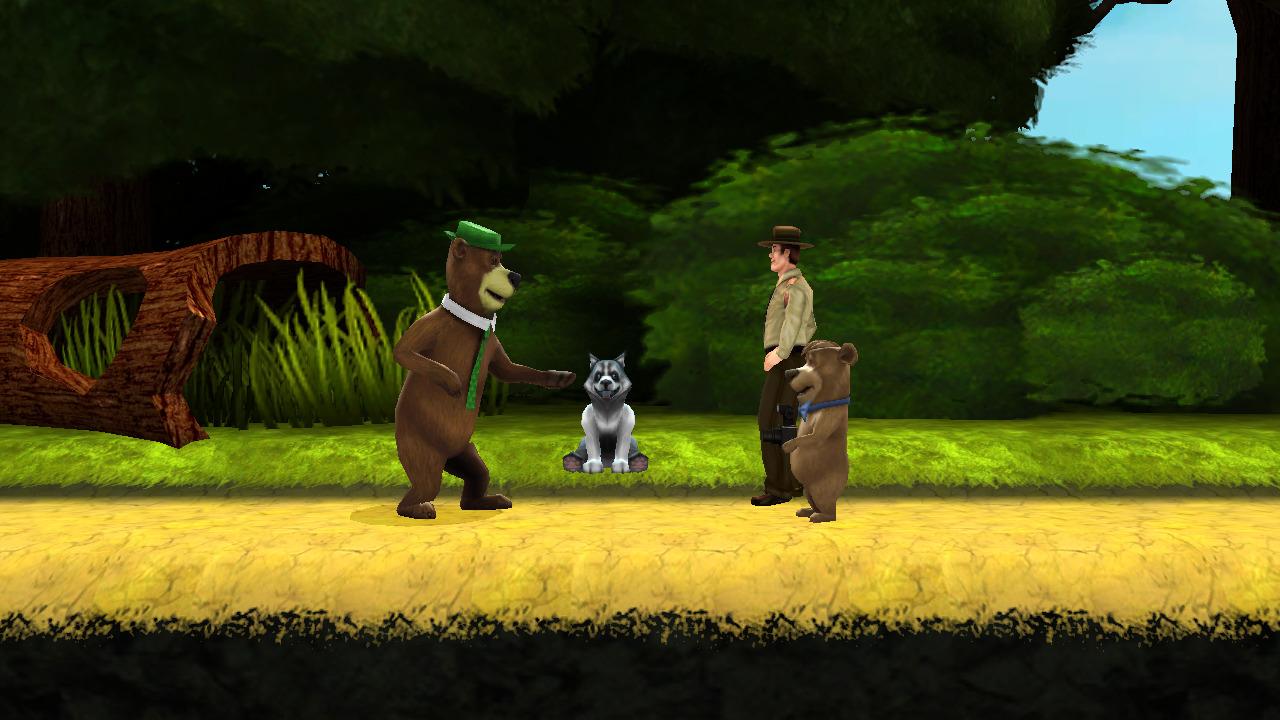 jeuxvideo.com Yogi l'Ours : Le Jeu Vidéo - Wii Image 3 sur 26