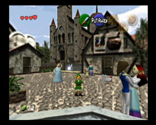 The Legend of Zelda : Ocarina of Time Wii - Screenshot 30