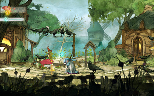 Aperçu Child of Light Wii U - Screenshot 4